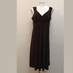 Michael KORS Brown Studded Midi Dress